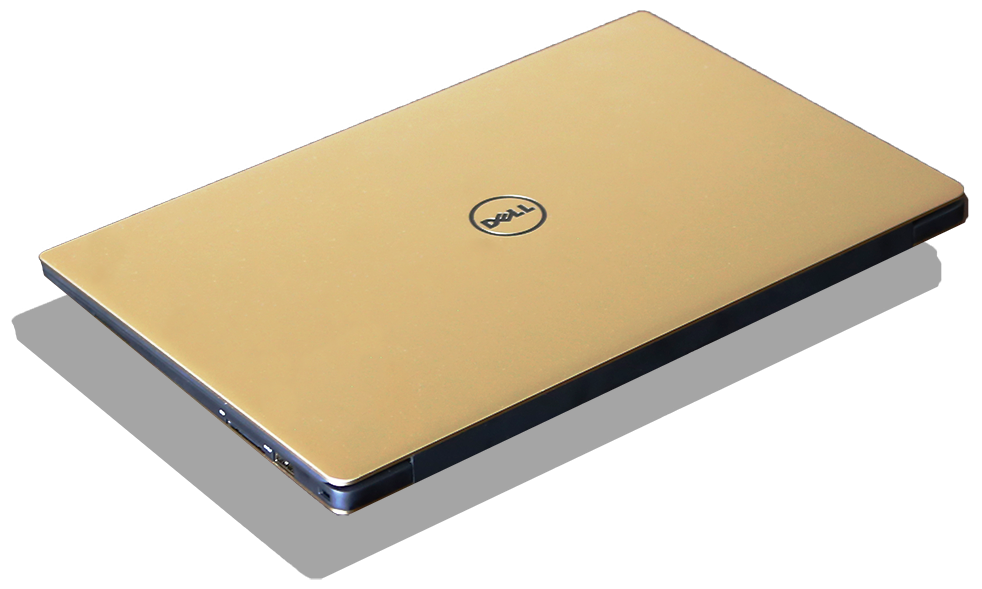 Dell XPS 13 9350 Gold Edition Angle
