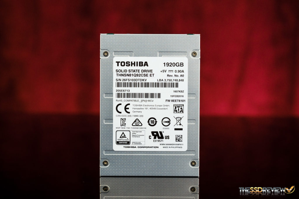 Toshiba HK4R 2TB SATA SSD