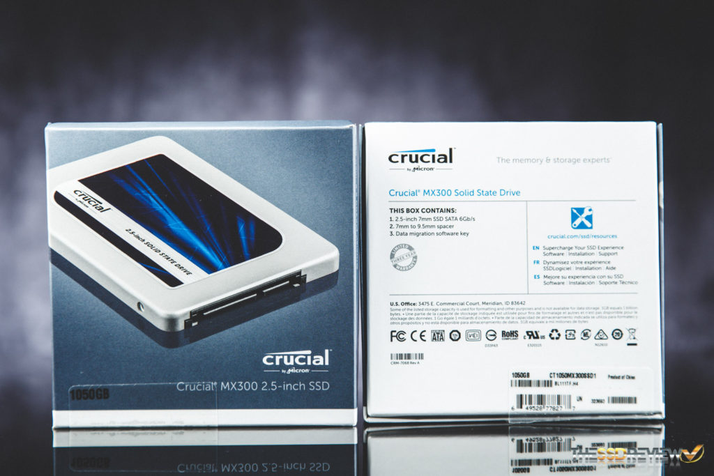 Crucial MX300 1050GB RAID 0 Package