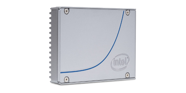 Intel 3D NAND SSD 2point5 inch form factor front view