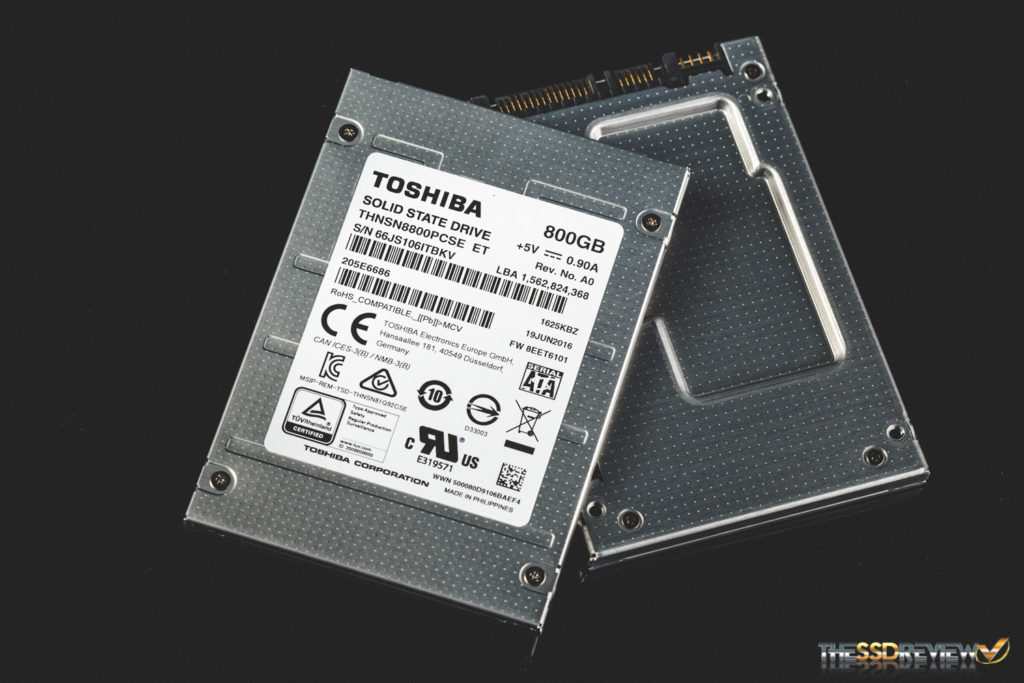 Toshiba HK4E 800GB Front Back