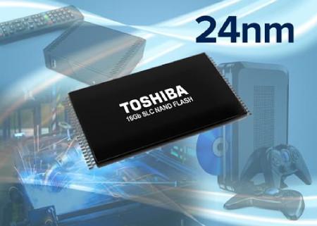 Toshiba Announces Expansion of 24nm SLC NAND Flash ...