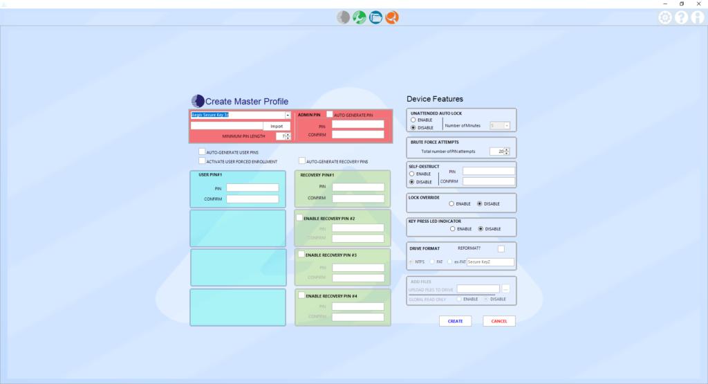 Apricorn Configurator Software 4