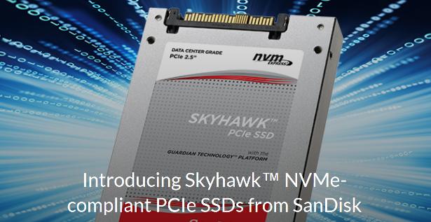 Skyhawk PCIe SSD banner