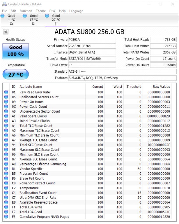 Adata SD700 Benchmarks 5