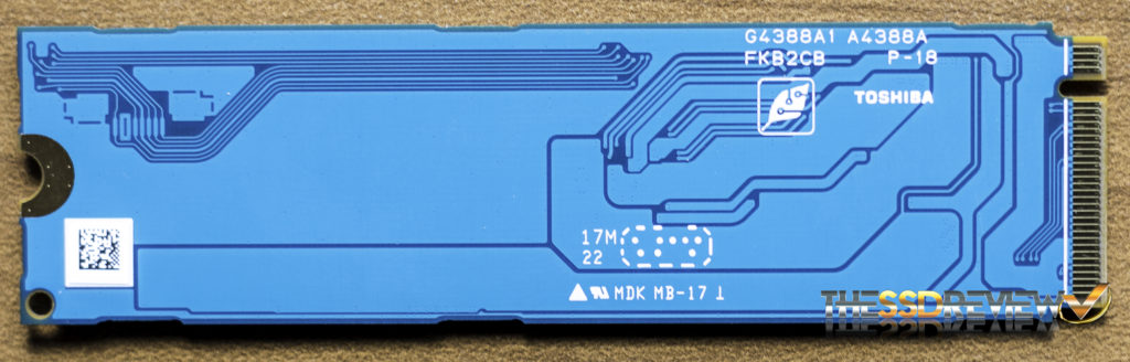Toshiba XG5 NVMe SSD