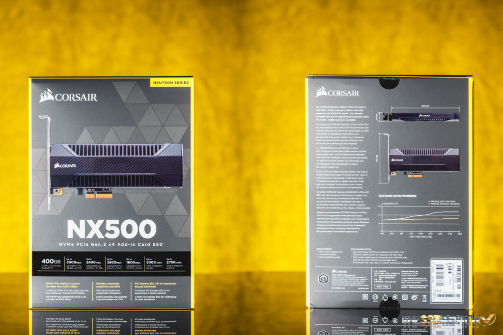 Corsair NX500 Package