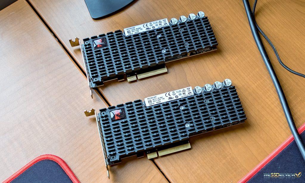 Kingston DCP1000 RAID 0