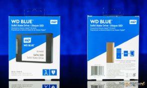WD Blue 3D SSD Package