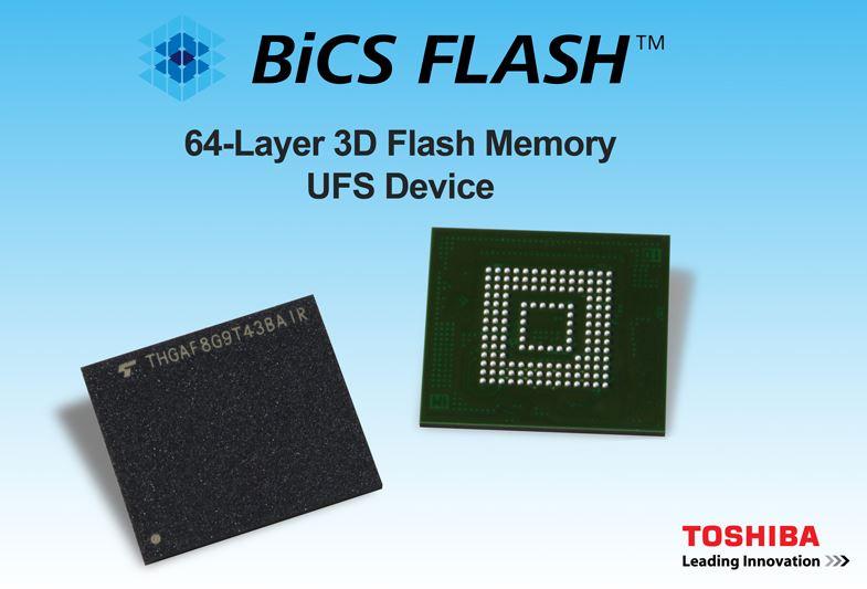 Toshiba 64-layer BiCS FLASH modules