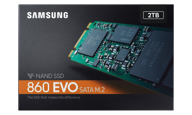 Samsung 860 Evo M 2 Sata3 Ssd Review 2tb The Ssd Review