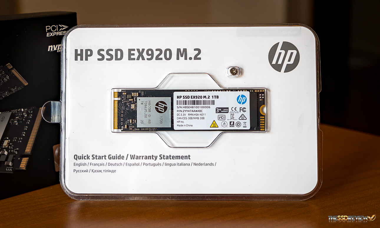 HP EX920 M 2 NVMe SSD Review (1TB) – Great Speed for a