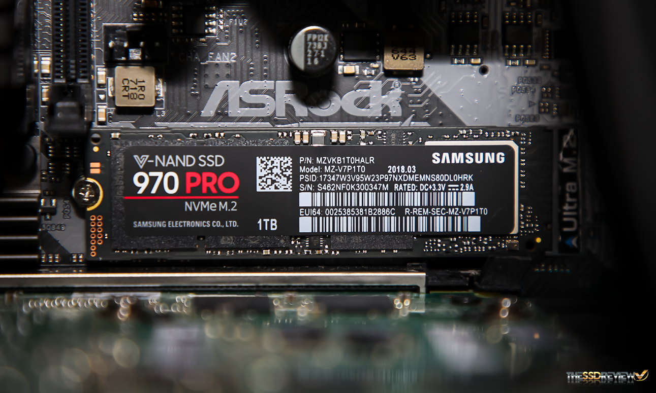 Samsung 970 Pro M 2 Nvme Ssd Review 1tb The Cost Of Being The
