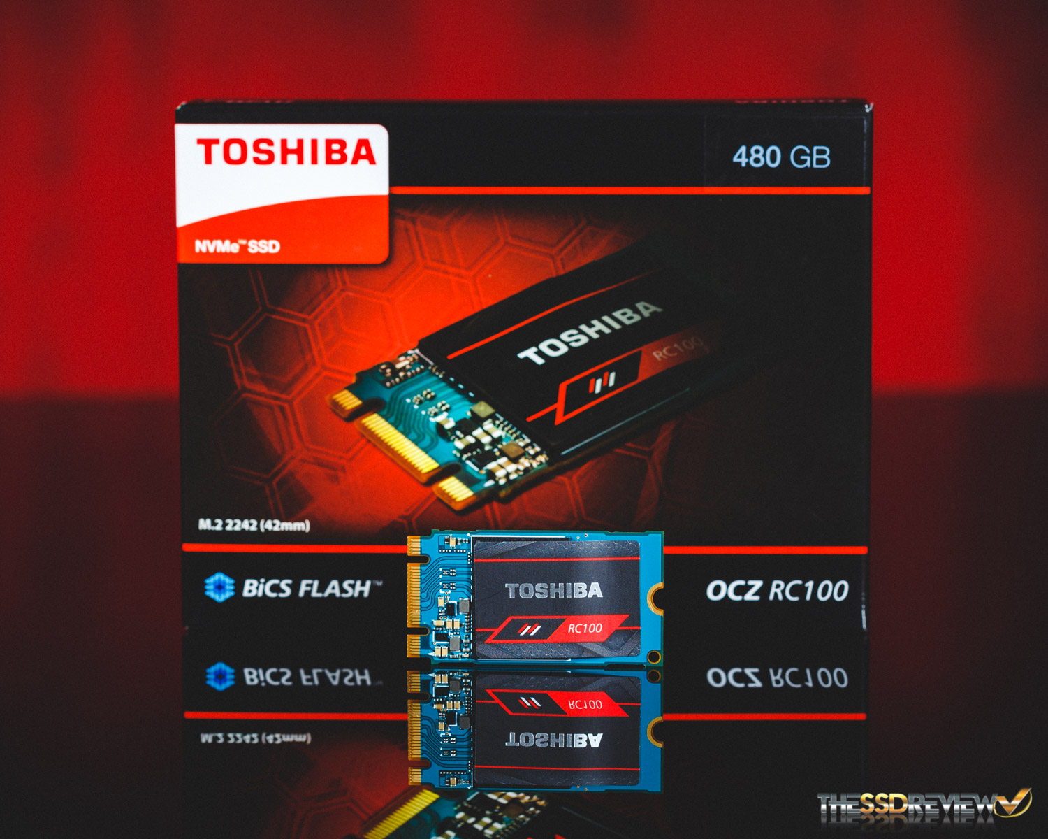 Toshiba Ocz Rc100 M2 Nvme Ssd Review 240gb 480gb Is This The Flash Disk 2 Gb Start Of A New Trend
