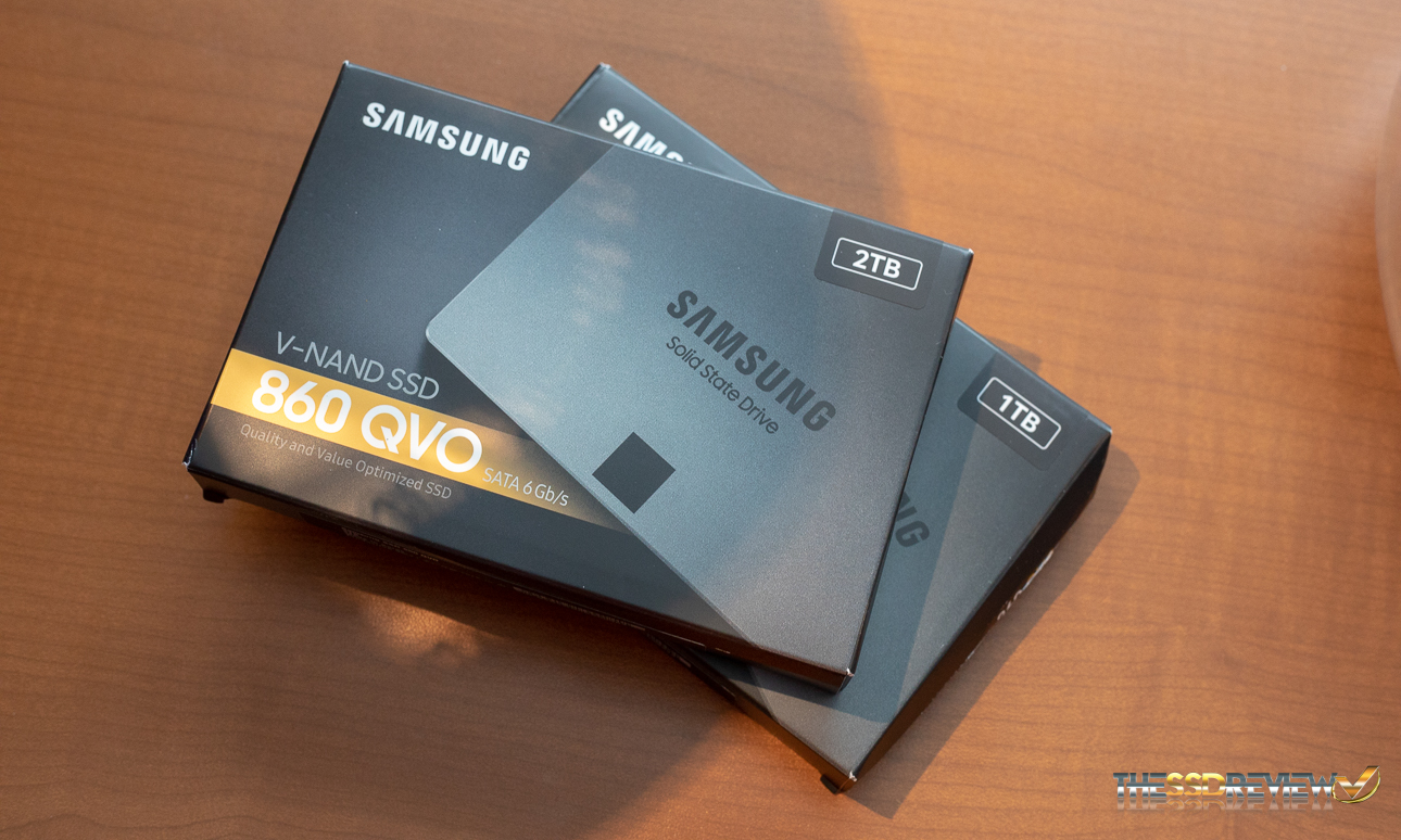 Samsung 860 Qvo Ssd Review 1tb 2tb Every Little Bit Counts The