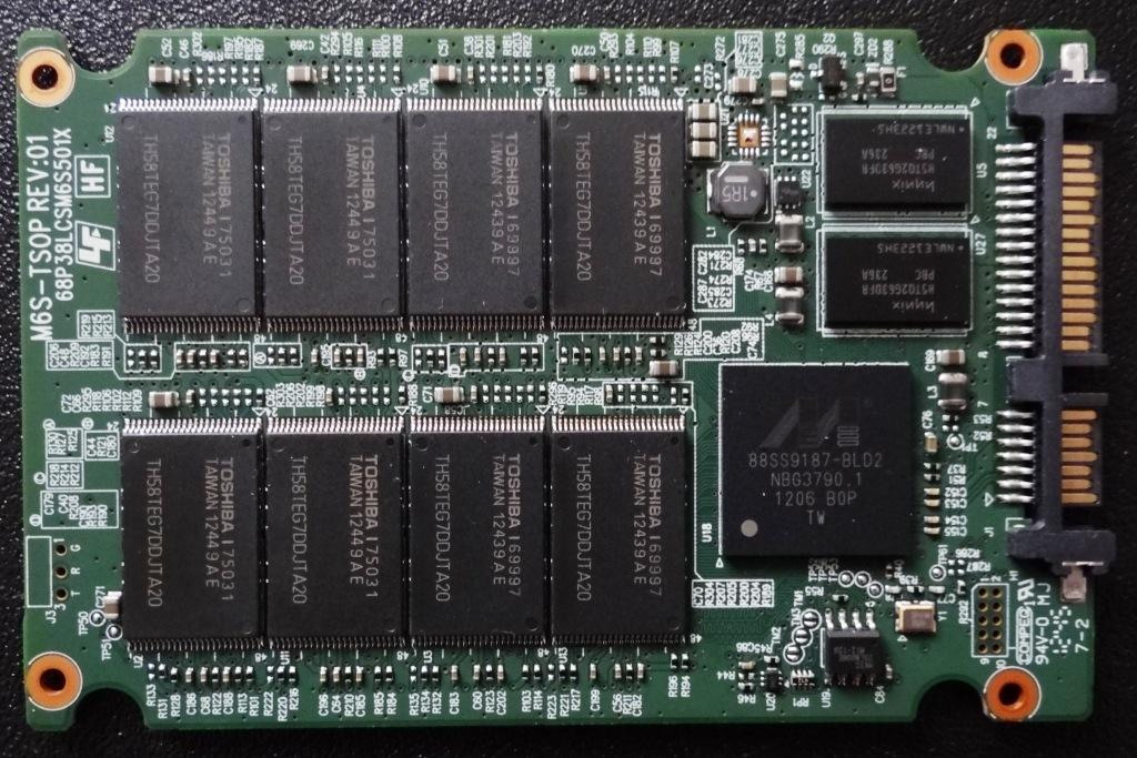 Plextor M5 Pro Xtreme PCB Front