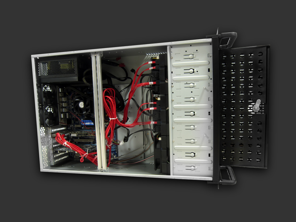 rosewill rsv-l411 server chassis case rackmount 3
