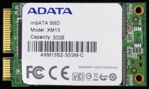ADATA XM13 SSD Front
