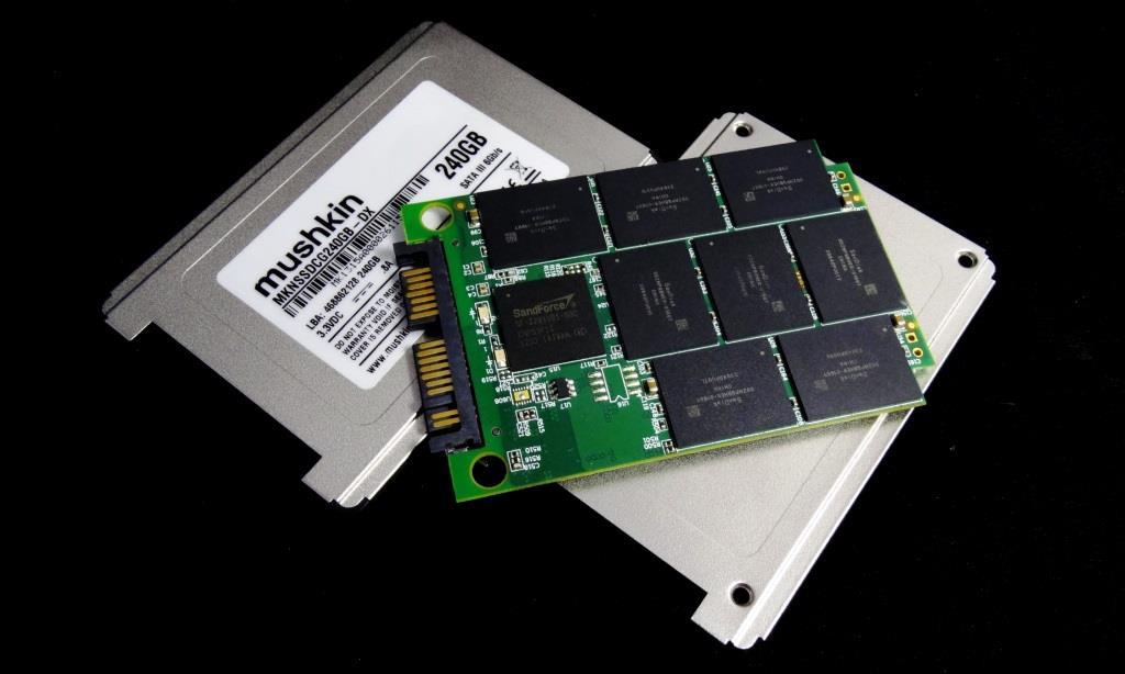 Mushkin Go 240GB SSD Disassembled