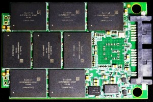 Mushkin Go 240GB SSD PCB Back