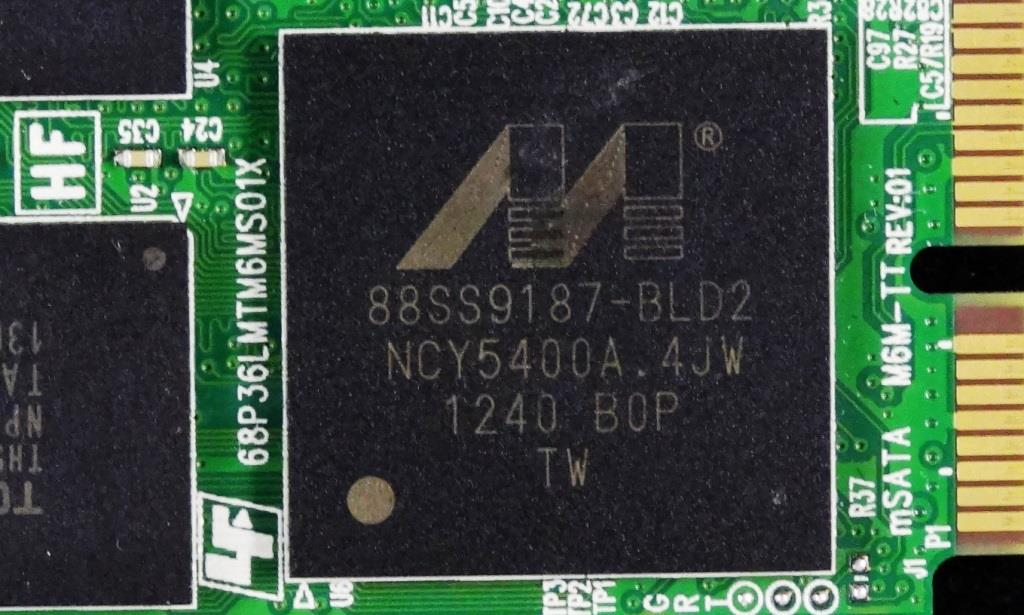 Plextor M5M mSATA SSD Marvell Controller