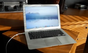 2013 MacBook Air Turned On