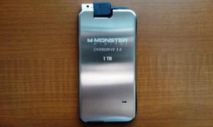 Monster Digital OverDrive 3.0 1TB External SSD Front