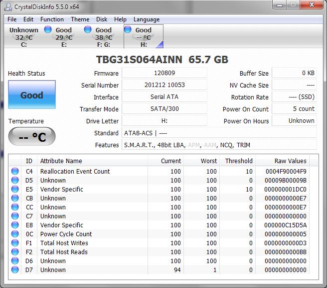 TCS BGA SSD CDI