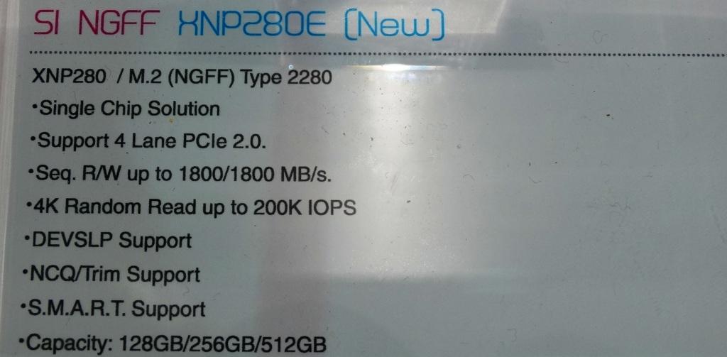 XNP280E Griffin Specs