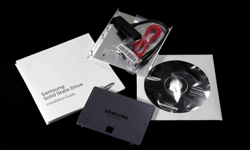 Samsung EVO 840 1TB SSD Contents