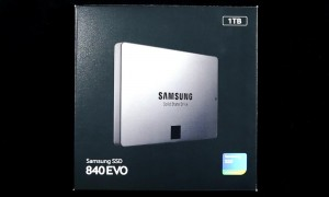 Samsung EVO 840 1TB SSD Exterior Front 2