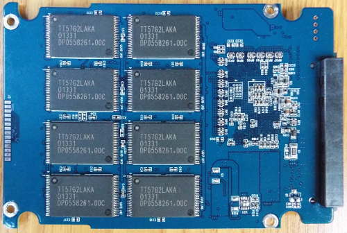 Force LS 240GB PCB top