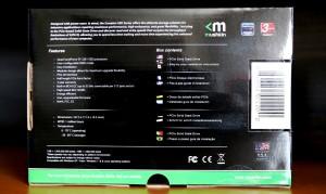 Mushkin Scorpion Deluxe PCIe SSD Package Back
