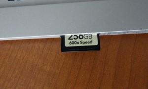 Overhead SD Card