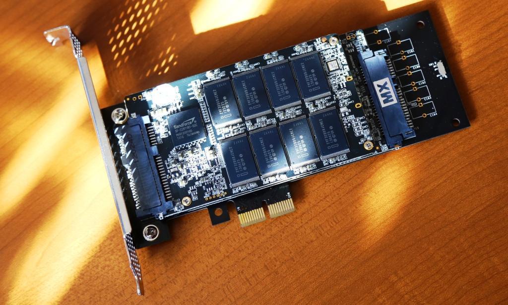 Mach Xtreme MX Express PCIe SSD Diagonal