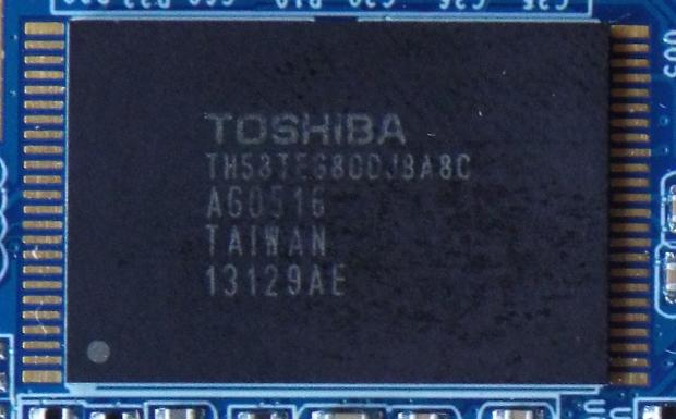 MyDigitalSSD caching SSD Toshiba NAND
