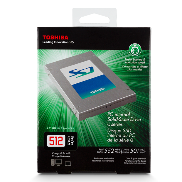 Toshiba Q-SSD 25GB retail box