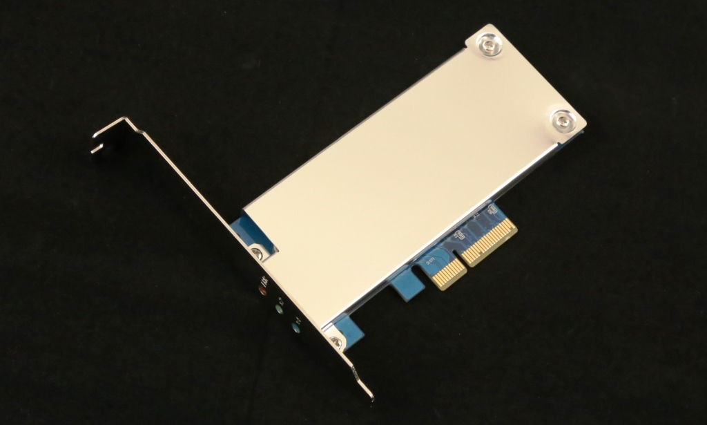 IOSwitch Raijin M.2 PCIe SSD Angled