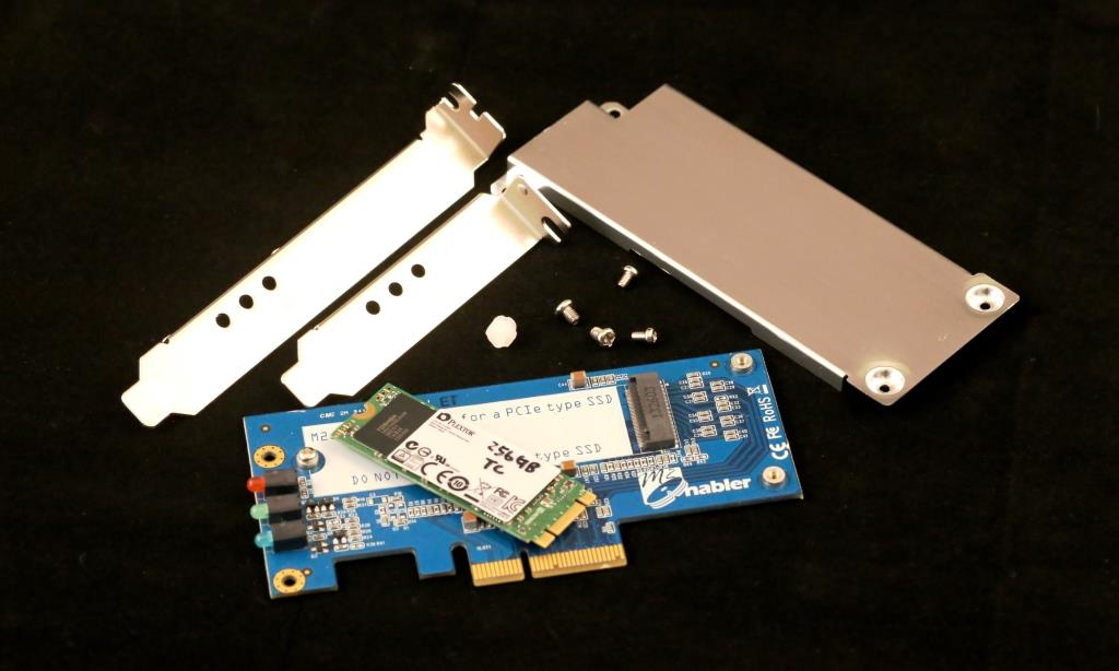 IOSwitch Raijin M.2 PCIe SSD Disassembled