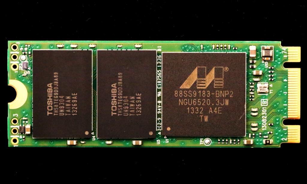 Plextor M6e SSD Front