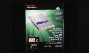 Toshiba Q Pro SSD Exterior Front
