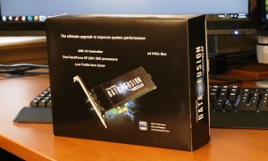 VisionTek Data Fusion PCIe SSD Exterior front