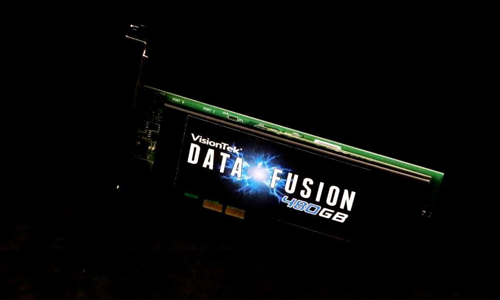 VisionTek Data Fusion PCIe SSD Extra
