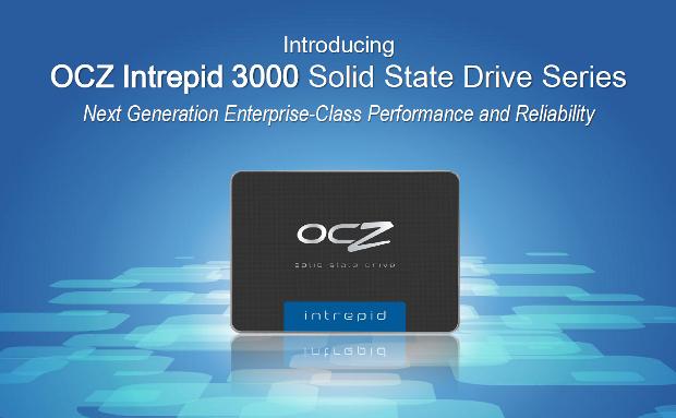 OCZ Intrepid3000 series banner