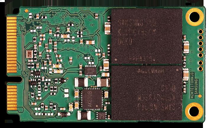 Samsung 840 EVO mSATA 1TB SSD PCB Back