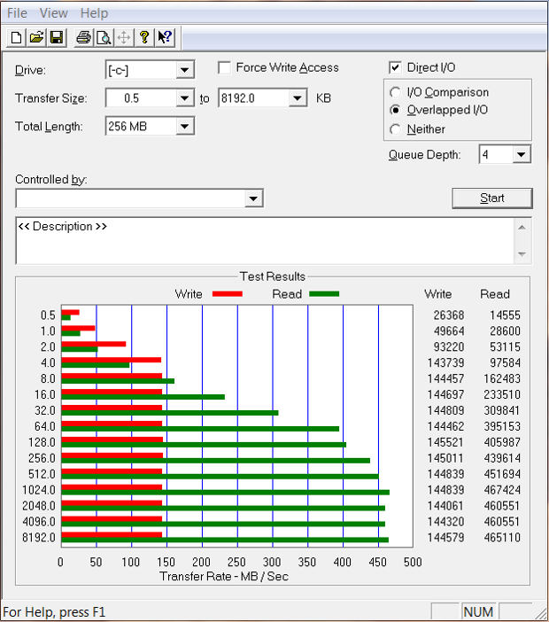 WD Black2 after migration and partition software install ATTO
