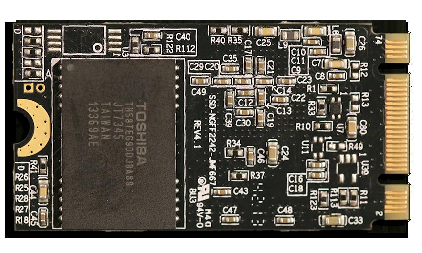 Kingspec M.2 SSD Back