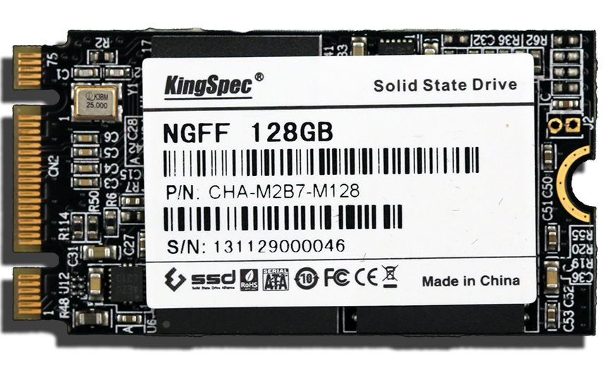 Kingspec M.2 SSD Front Brand