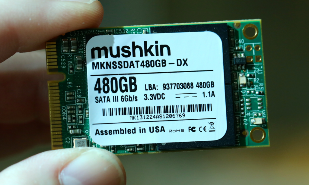 Mushkin Atlas 480GB SSD Front Branded