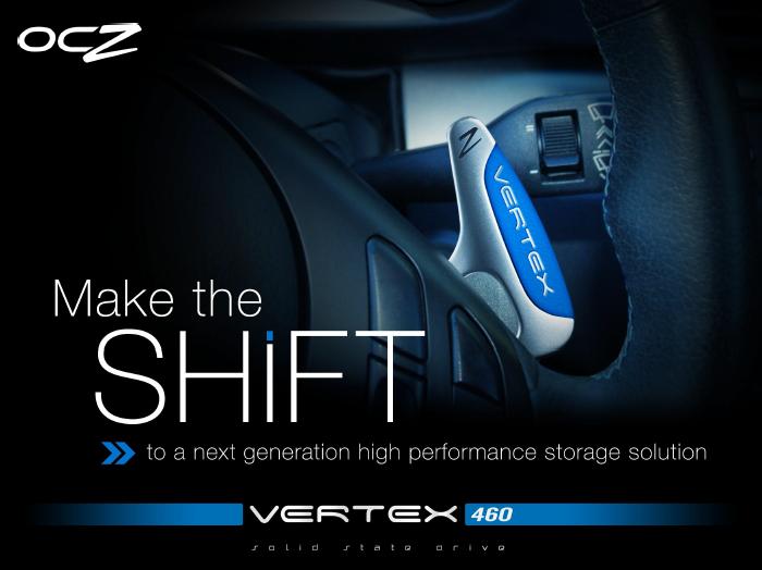 OCZ Vertex Make The Shift